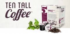 Ten Tall Coffee by Sol Wave Water Santa Barbara